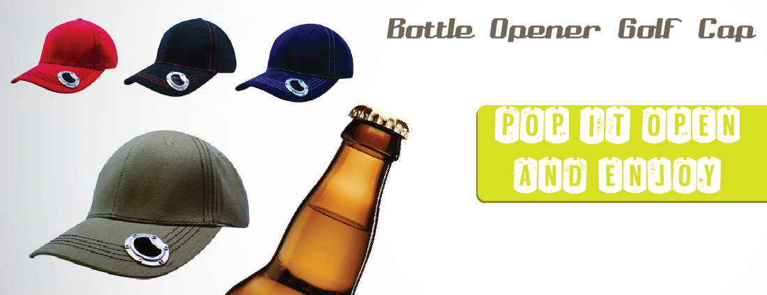 Bottle Opener Golf Cap